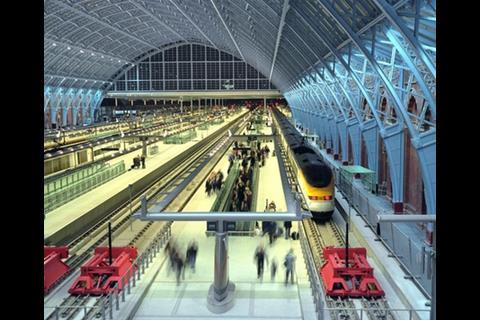 St Pancras International Station shortlisted under regeneration